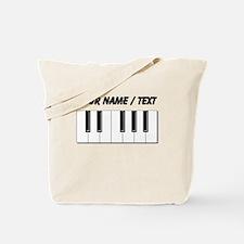 Custom Keyboard Keys Tote Bag