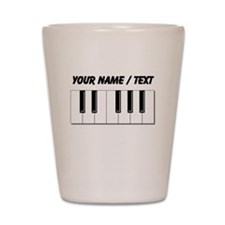 Custom Keyboard Keys Shot Glass