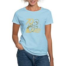 70 And Fabulous (Glitter) T-Shirt