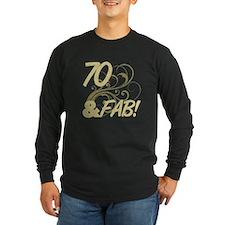 70 And Fabulous (Glitter) T