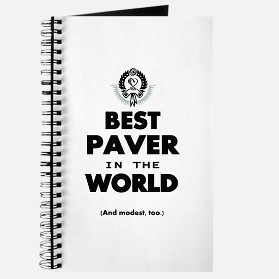 Best Paver in the World Journal