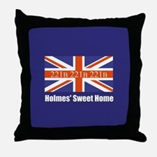 Holmes' Sweet Home Throw Pillow