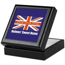 Holmes' Sweet Home Keepsake Box