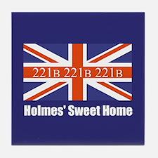 Holmes' Sweet Home Tile Coaster