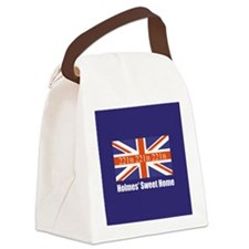 Holmes' Sweet Home Canvas Lunch Bag