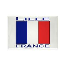 Lille, France Rectangle Magnet