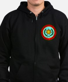 Eastern Band Of The Cherokee Sea Zip Hoodie (Dark)