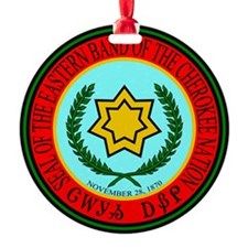 Eastern Band Of The Cherokee Seal Ornament
