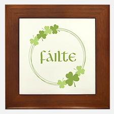 Failte Framed Tile