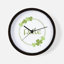 Failte Wall Clock