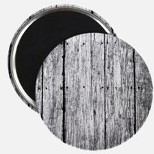 White nailed wood fence texture Magnets