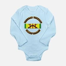 Vietnam - Infantry Long Sleeve Infant Bodysuit