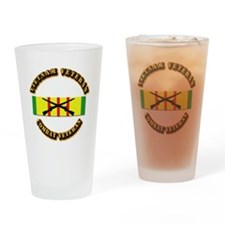 Vietnam - Infantry Drinking Glass