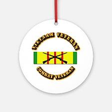 Vietnam - Infantry Ornament (Round)