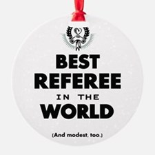 Best Referee in the World Ornament