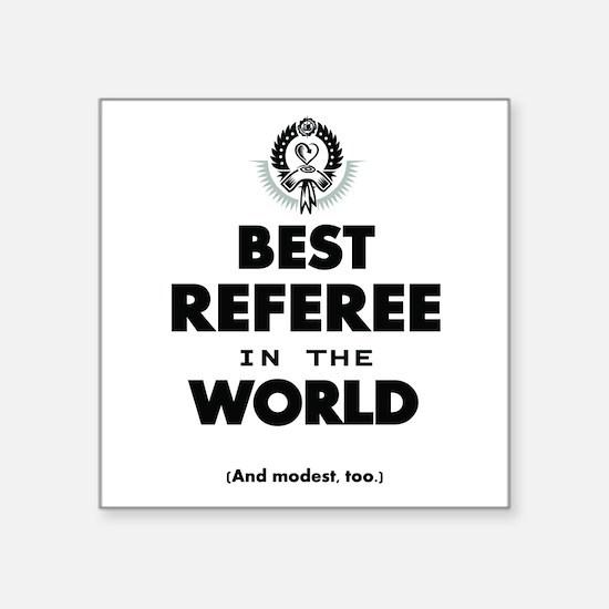 Best Referee in the World Sticker