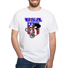 Patriotic USA BMX Biker Shirt