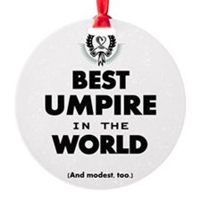 Best Umpire in the World Ornament