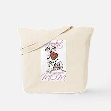 Dalmatian Mom Tote Bag