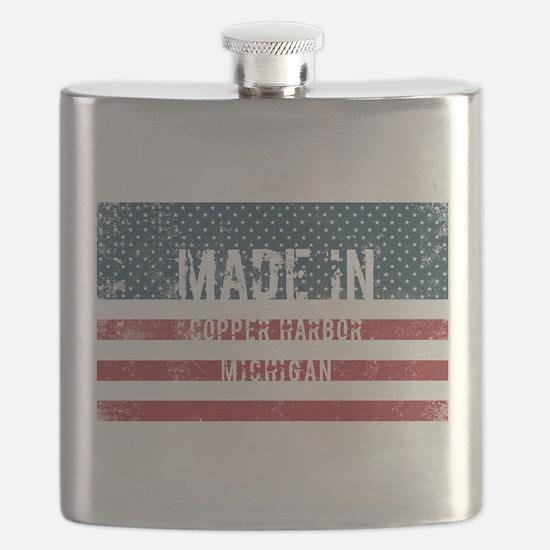 Made in Copper Harbor, Michigan Flask