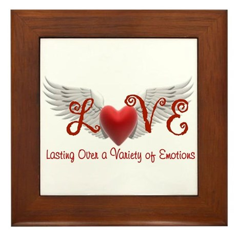 Lasting Over a Variety of Emotions Love Wings Fram