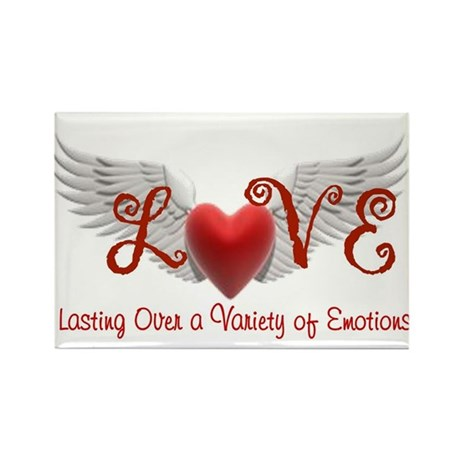 Lasting Over a Variety of Emotions Love Wings Magn