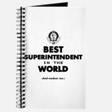Best Superintendent in the World Journal