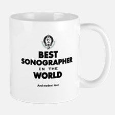 Best Sonographer in the World Mugs