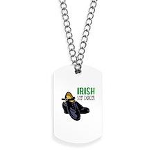 Irish Step Dancer Dog Tags