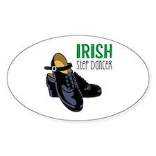 Irish Step Dancer Decal