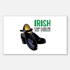 Irish Step Dancer Decal