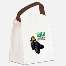 Irish Step Dancer Canvas Lunch Bag