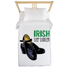 Irish Step Dancer Twin Duvet