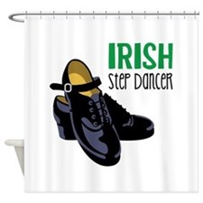Irish Step Dancer Shower Curtain