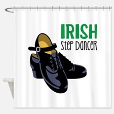 Irish Step Dancer Shower Curtain