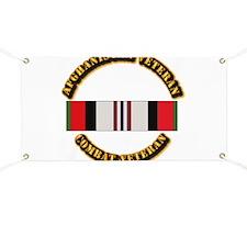 Afhganistan Veteran Banner
