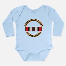 Afhganistan Veteran Long Sleeve Infant Bodysuit