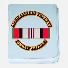 Afhganistan Veteran baby blanket