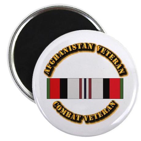 """Afhganistan Veteran 2.25"""" Magnet (10 pack)"""