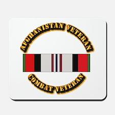 Afhganistan Veteran Mousepad