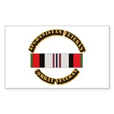 Afhganistan Veteran Decal