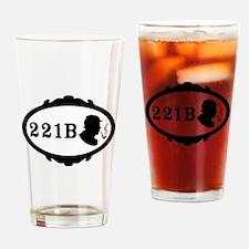 221B Baker Street Drinking Glass