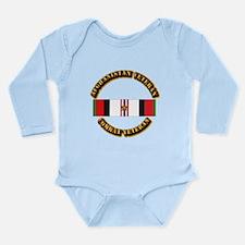 Afhganistan Veteran w Long Sleeve Infant Bodysuit