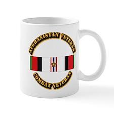 Afhganistan Veteran w Campaign Star Mug