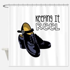 Keeping it Reel Shower Curtain