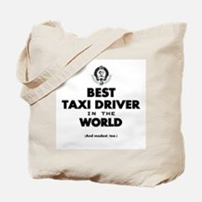Best Taxi Driver in the World Tote Bag