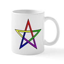 Rainbow Woven Star Mug