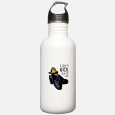I Get a Kick Out of Life Water Bottle