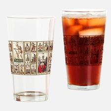 Italian Tarot, Vintage Drinking Glass