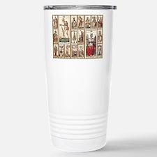 Italian Tarot, Vintage Travel Mug